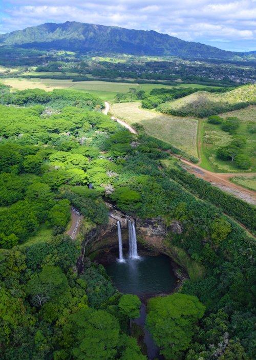 Waimea Falls  - Jack Harter Helicopter Tour Kauai