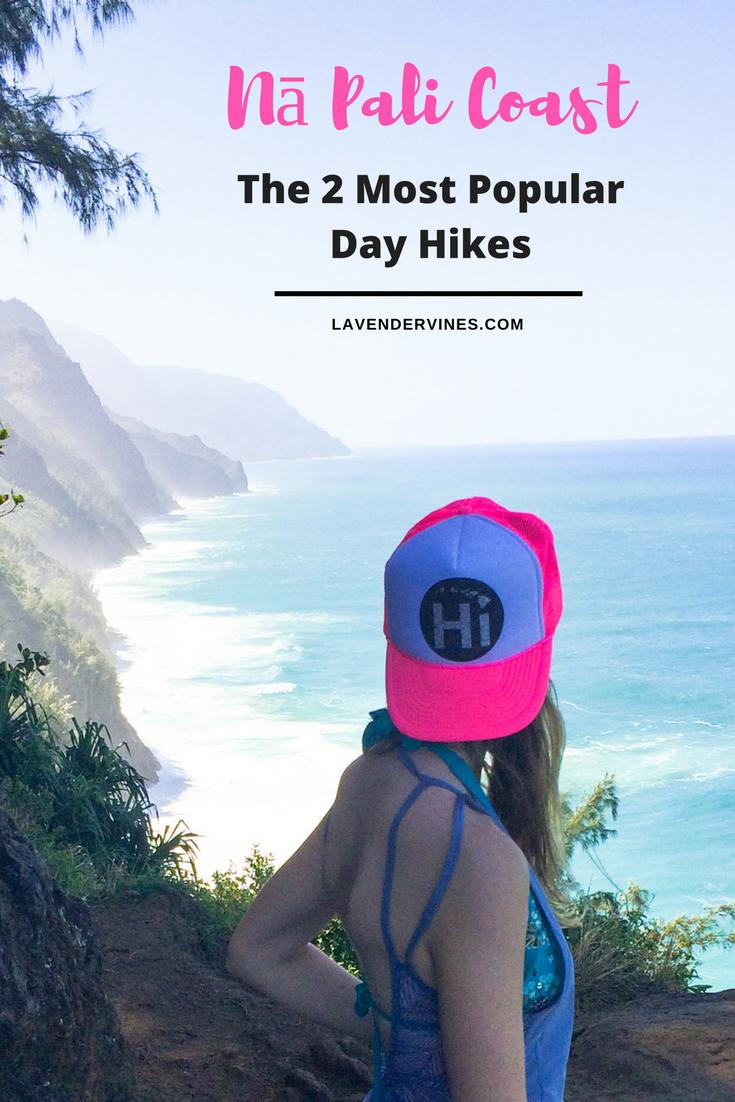 The Two Most Popular Day Hikes Along Kauai's Nā Pali Coast