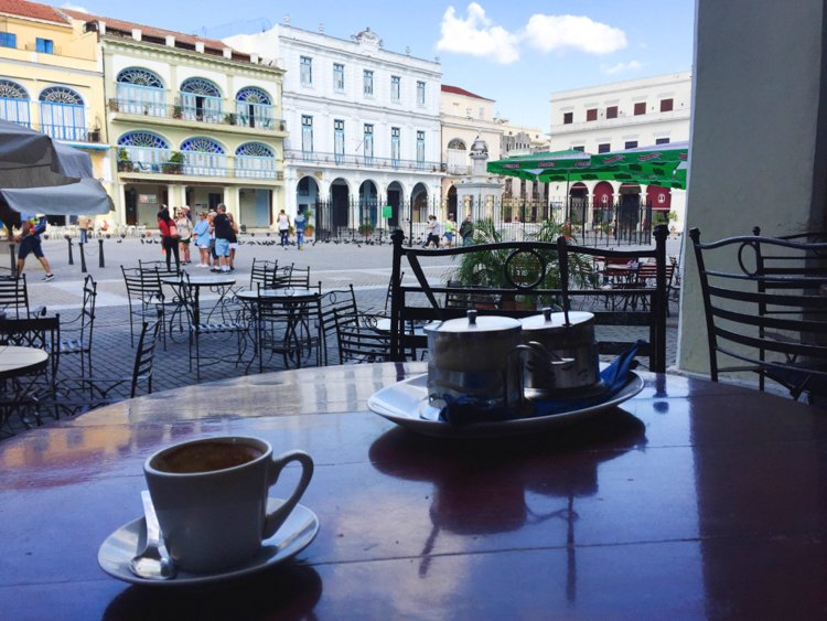 Café el Escorial, Havana, Cuba