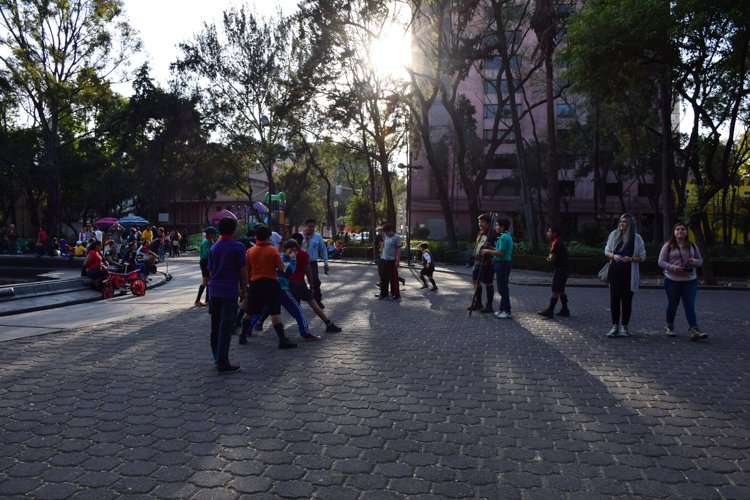 Plaza Rio de Janeiro - La Roma, Mexico City
