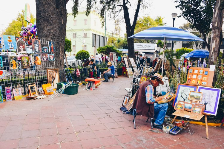 Coyoacán Neighborhood markets - 20 Photos Inspire You to Visit Mexico City, Mexico