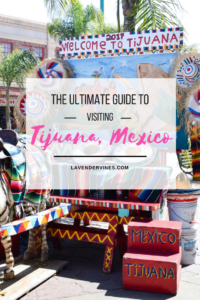 San Ysidro border crossing - A Guide to Visiting Tijuana, Mexico