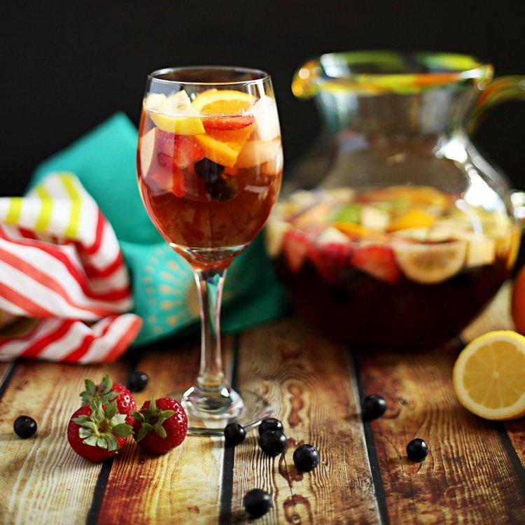 Sangria Mexican Non Alcoholic Drink