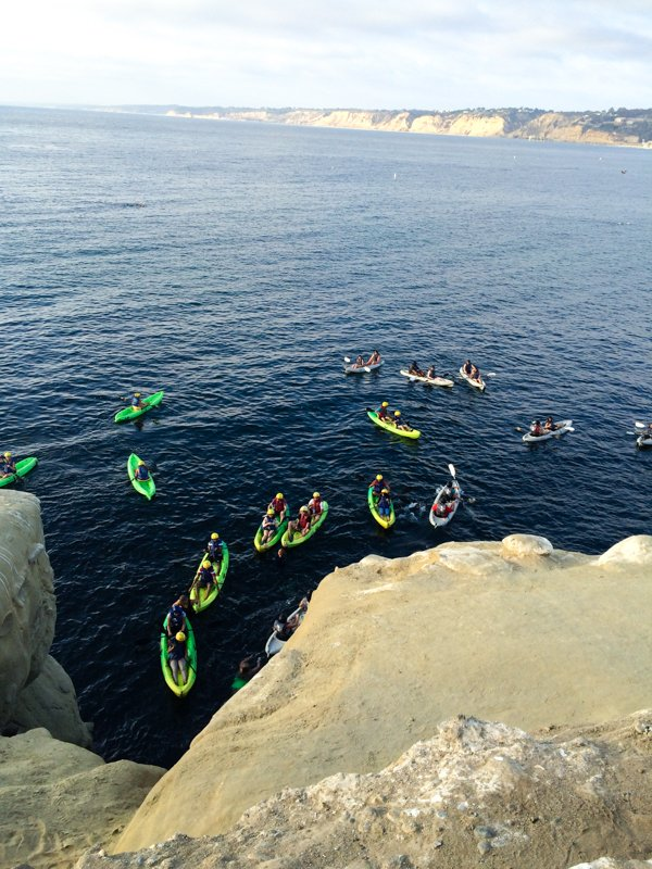 San Diego's Best Outdoor Adventures - Sea Kayaking