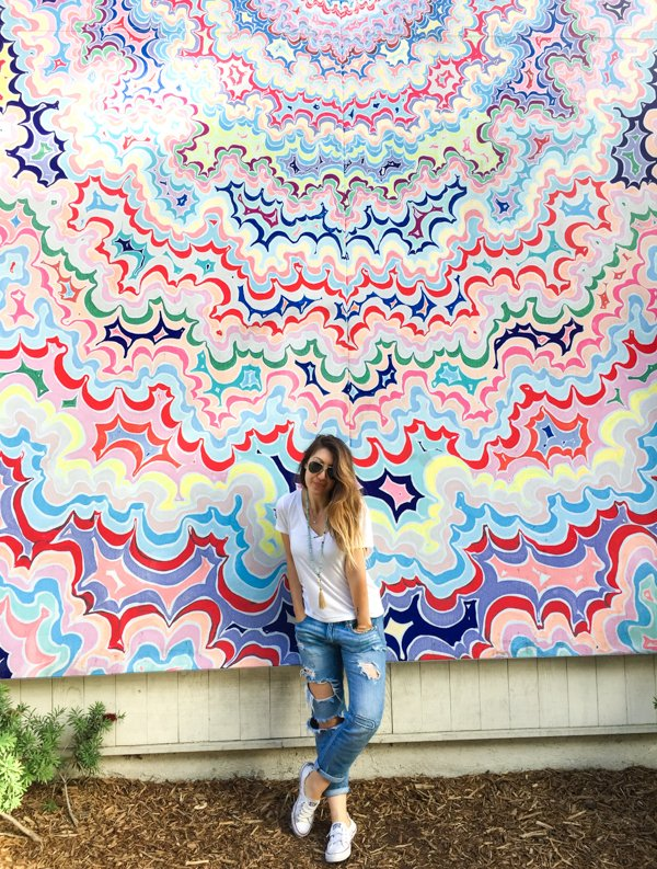 One Pointed Attention Mural - San Diego Instagram Spots