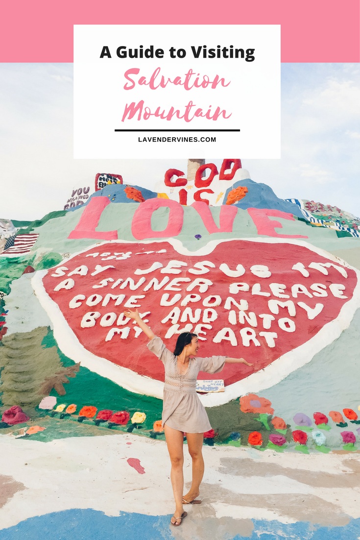 Visiting Salvation Mountain, California
