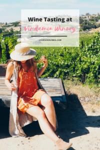 Wine Tasting Vindemia Vineyard and Winery