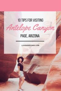 Visit Antelope Canyon tips