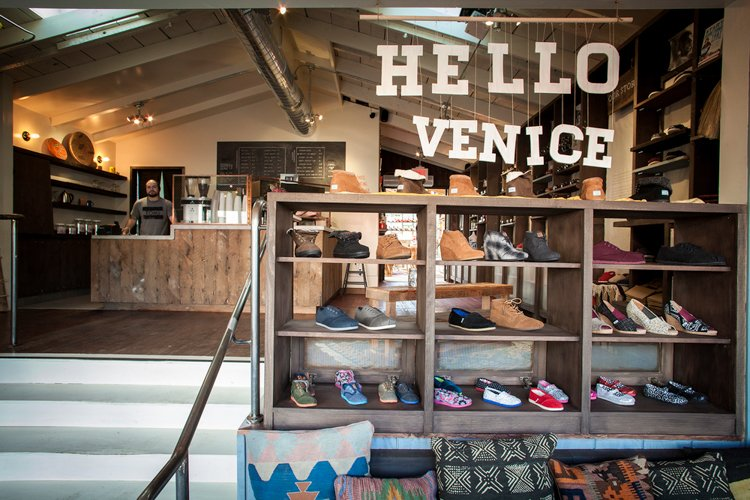 Best Coffee Shop in Venice Beach - TOMS Flagship Store