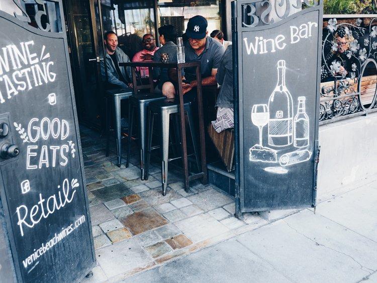 Venice Beach Wines - Rose Avenue - The Ultimate Guide to Venice Beach