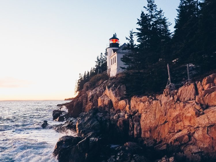 Bass Harbor Lighthouse - Guide Acadia National Park