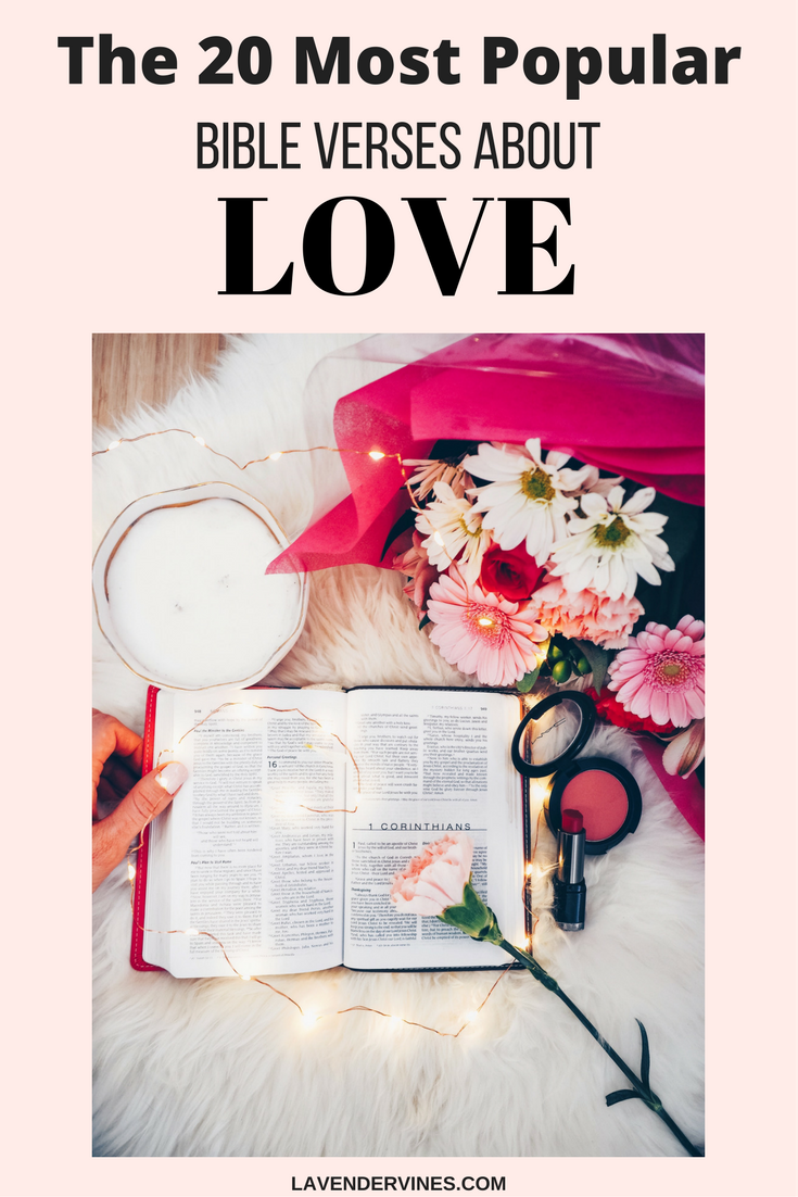 20 Bible Verses About Love