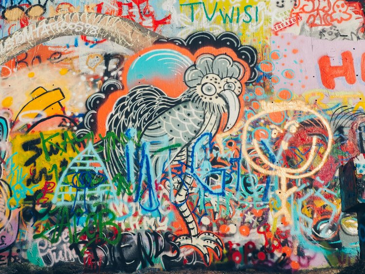 Castle Hill Graffiti Park/HOPE Outdoor Gallery - Things to do in Austin, Texas