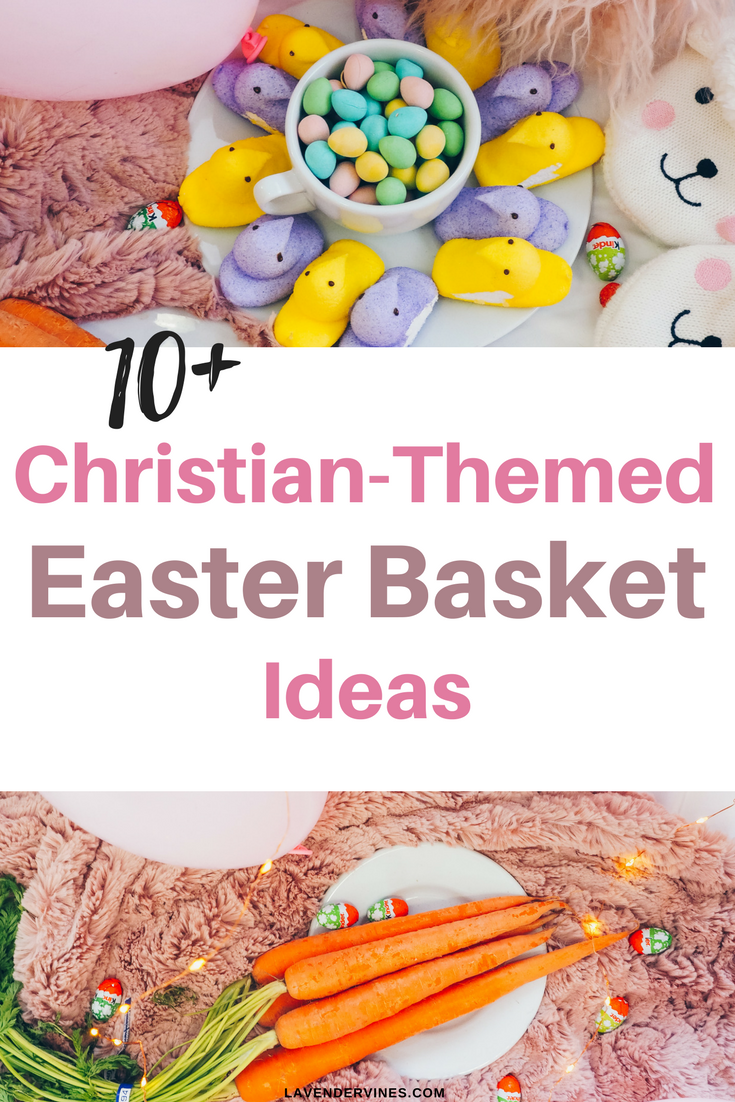 10 christian easter basket ideas for kids christian themed easter basket ideas negle Gallery