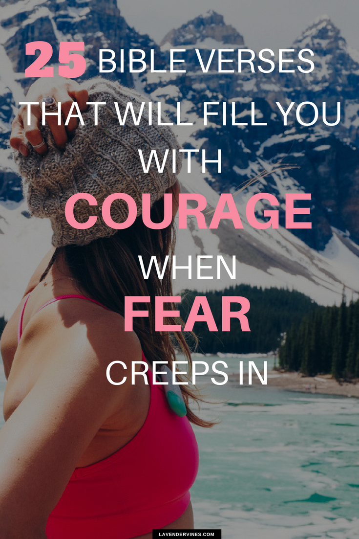 Bible verses about fear that will fill you with courage
