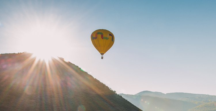 Best Places to Visit in the Fall - Salt Lake City, Utah hot air balloon