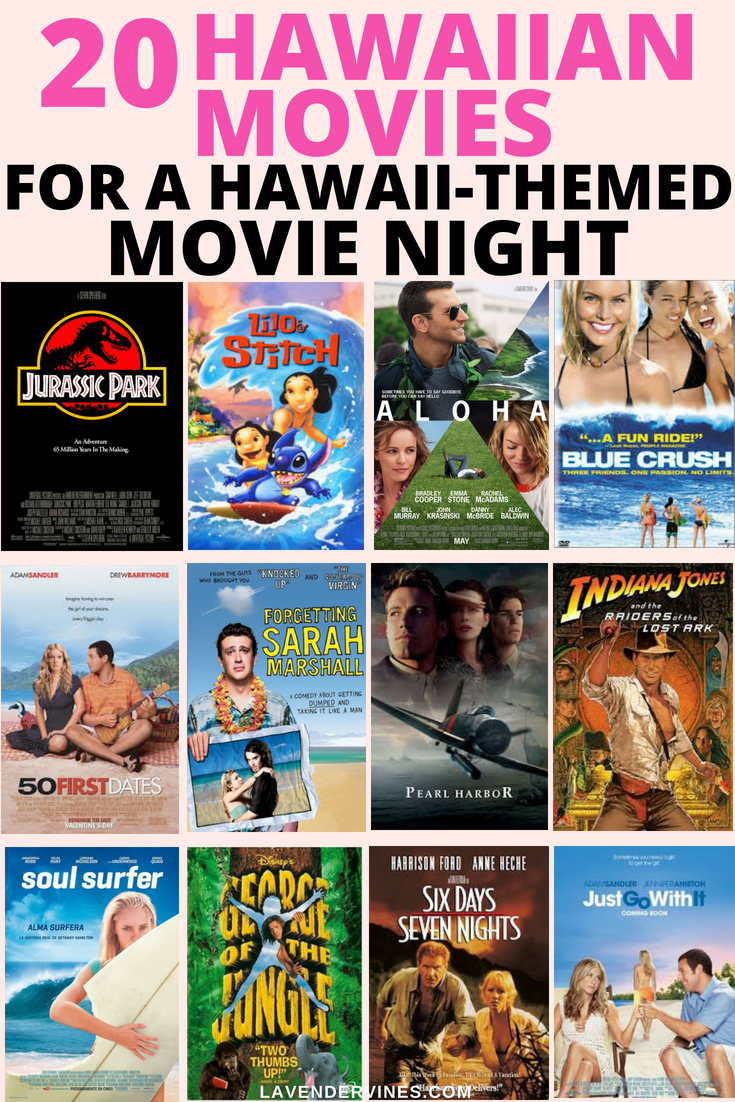 Hawaiian Movies for a Hawaii-Themed Movie Night