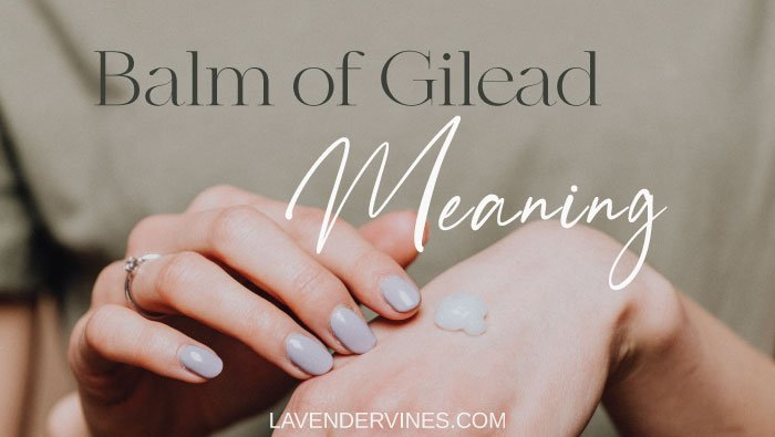 Balm of Gilead Meaning