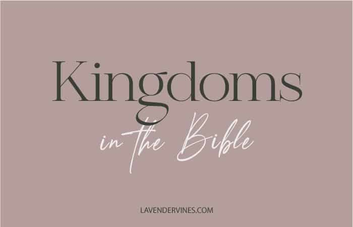 Kingdoms in the Bible