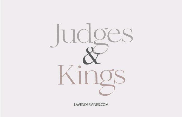 Judges & Kings