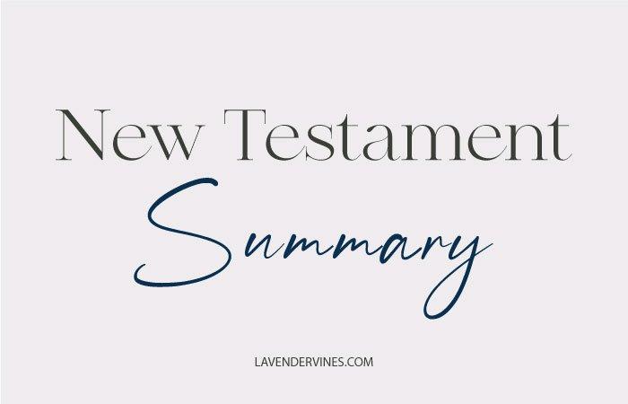 New Testament Summary
