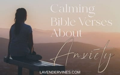 20 Calming Bible Verses About Worry and Anxiety