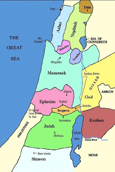 Gilead Map