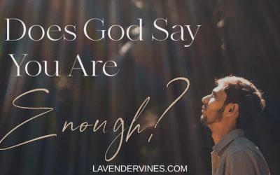 God Says You Are Enough, So Why Can't We Believe It?