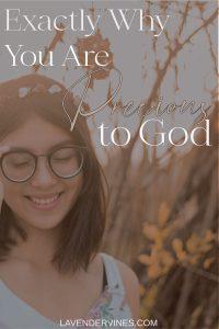 You Are Precious to God